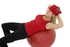 ball fitness Στοκ Εικόνες