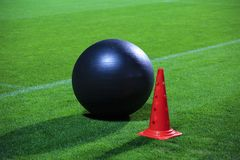 Ball for  fitness Stock Photos