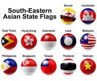 Ball Flags Stock Photos