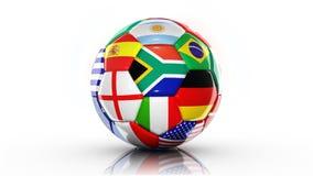 Ball Flags Stock Photo