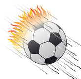 Ball_flames illustration stock