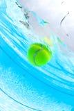 ball floating pool swimming tennis στοκ εικόνα