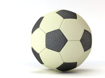 Ball for football. On white background Stock Photo