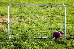 Ball Football Soccer Mini Goal Net Royalty Free Stock Photos