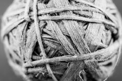 A ball of frayed string Stock Images