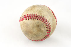 Ball for game in baseball. Stitches, fields Stock Photography