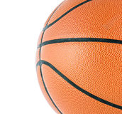 Ball for the game in basketball isolate Royalty Free Stock Photo