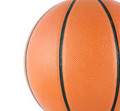 Ball for the game in basketball isolate Stock Photography
