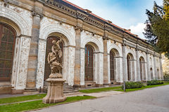 Ball Game Hall in the Royal Garden in Prague Royalty Free Stock Image