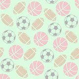 Ball Games Background Stock Photography