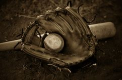 Ball glove Royalty Free Stock Photos