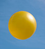 Ball of golden colour Royalty Free Stock Image