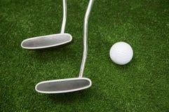 Ball for a golf Royalty Free Stock Photos