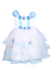 Ball Gown for girl. Is isolated Royalty Free Stock Photography