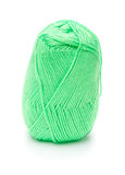 Ball of green threads Royalty Free Stock Images