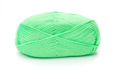 Ball of green threads Stock Photography
