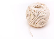 Ball of hairy sisal string Royalty Free Stock Photography