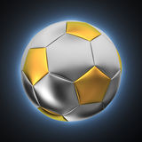 Ball with halo Royalty Free Stock Photography