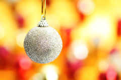Ball Hanging Christmas decoration Stock Image