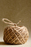Ball of hemp rope Stock Images