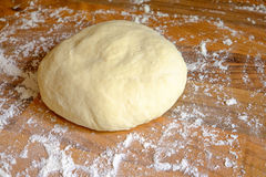 Ball of homemade pizza dough Stock Photo