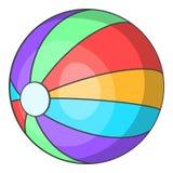 Ball icon, cartoon style. Ball icon. Cartoon illustration of ball vector icon for web Royalty Free Stock Image