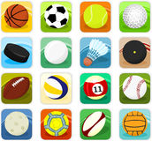 Ball icons vector illustration