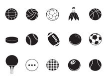 Ball icons collection Stock Images