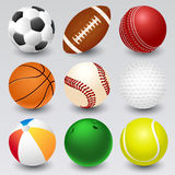 Ball icons Stock Photos