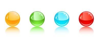 Ball icons vector Stock Photos