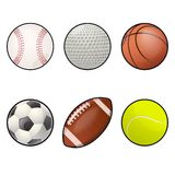 Ball icons Royalty Free Stock Images