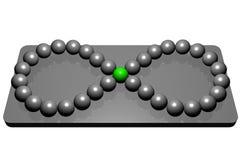 Ball infinity Stock Image