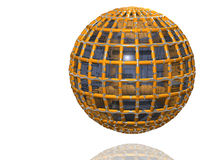 Ball - isolated - 3D. Illustration to Theme of communication - Ball - isolated - 3D Stock Photography