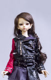 Ball jointed doll girl Royalty Free Stock Image