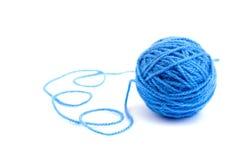 Ball of knitting yarn Royalty Free Stock Image
