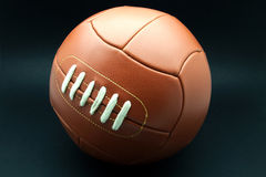 Ball of leather Stock Photo