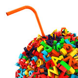 Ball of letters Stock Photo
