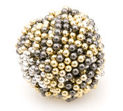Ball of Magnets Stock Images