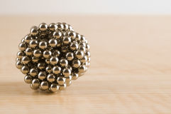 Ball of Magnets Royalty Free Stock Photos