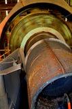 Ball mill ore crusher mining Royalty Free Stock Photos