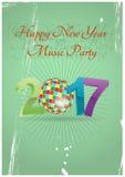 2017 ball music Royalty Free Stock Image