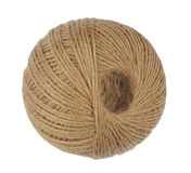 Ball of Natural String Royalty Free Stock Photography