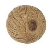Ball of Natural String Royalty Free Stock Photography
