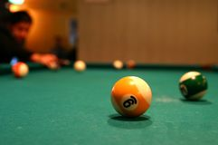 Ball nine Royalty Free Stock Photos