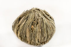 Ball Of Exclusive Green Tea Stock Image