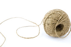 Ball Of Hemp Rope Royalty Free Stock Images