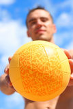 Ball outdoors Stock Images