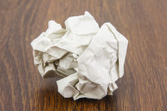 Ball of paper sheet Stock Photo
