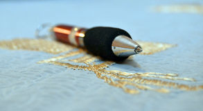 Ball pen Royalty Free Stock Images
