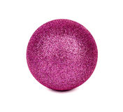Ball. Pink ball isolated on white background Stock Photo